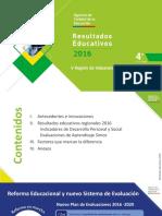Resultados Simce V Región de Valparaíso