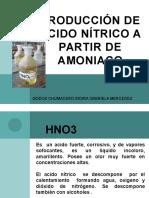 Producción de Acido Nítrico