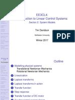 System Models Handout