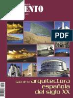 2002 Arquitectura Española Del Siglo XX