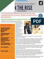 husds on the rise newsletter - november