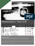 math- time unit