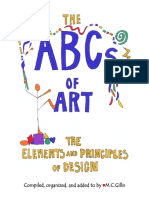 ABCsOfART BOOKLET Color ElementsAndPrinciplesOfDesign 2015