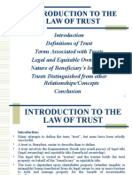2CopyRequirements for the Creation of an Express Private Trust- Law Equity, Trusts Probate I