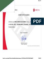 Certificado Excel Intermediário 2010