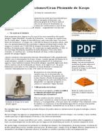 Grandes Construcciones_Gran Pirámide de Keops