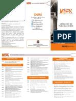 Catalogo Publicaciones Dgrs 2017