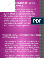 Social and Culture Chapter 6