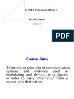 Communication system lecture 1
