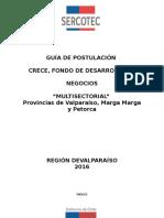 Valparaíso_Multisectorial Provincias de Valparaíso Marga Marga y Petorca