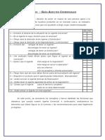 Guía Agentes Checklist