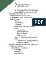 Geologia de Exploracion y Explotacion