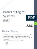 Basics of Digital Systems 456