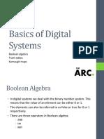 Basics of Digital Systems 456