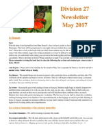 div 27 may 2017 newsletter