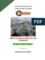Modelo Informe Parada Planta Para Terminar