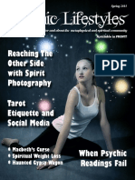 Psychic Lifestyles- Spring 2015