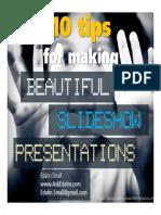 10 tips for making beautiful slideshow presentation.pdf