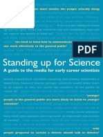 Standing Up for Science Interactive