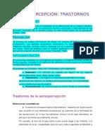Sensopercepción_ Trastornos
