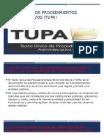 Texto Único de Procedimientos Administrativos (TUPA)