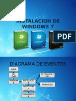 Instalacion de Windows 7