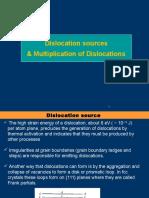 Dislocation Multiplication