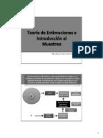 04.0 Introducción a La Teoria de Estimaciones y Muestreo