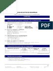 Ficha de Datos Furfural
