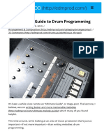 The Ultimate Guide to Drum Programming - EDMProd