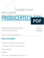 Producers Guide to DIY Mastering Slideshow PDF