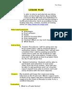 lesson plan praxis edu 201
