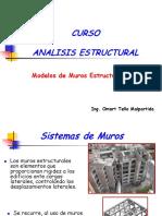 Modelos Muros Estructurales