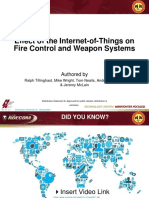 Effect of the Internet-Of-Things on Fire Control and Weapon Systems