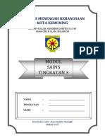 Modul Sc f3 - Cikgu Rafida