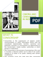 Cinema and Censorship in India