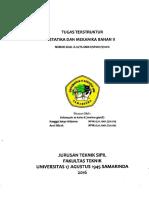 Tugas Besar Statika Dan Mekanika Bahan II
