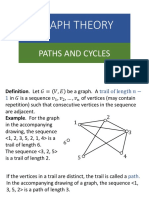 Lecture Notes 18 (Paths and Cycles)(2)