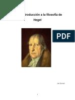 Breve Introducción a La Filosofía de Hegel.