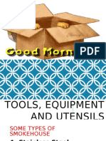 Tools, Equipment and Utensils (Food Processing)