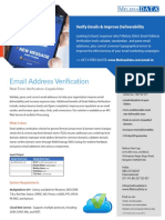 Email Validation Services in Australia - Melissa Data