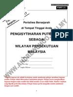 Contoh Tugasan Sejarah PT3 2017