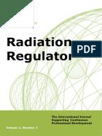 Radiation Regulator issue 1