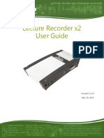 Epiphan Lecture Recorder x2 Userguide
