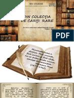 Cristian, Elena. Din colecţia de cărţi rare