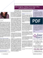 Family Care Giving - Helping a Parent Age in Place With Non-Medical in-Home Care