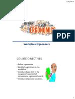 Lecture 12_Workplace Ergonomics