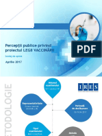 IRES_Perceptii Publice Privind Proiectul Legii Vaccinarii_Sondaj_APRILIE 2017_site