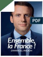 Macron et Le Pen, les professions de foi