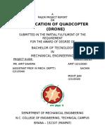 Quadcopter (Drone)